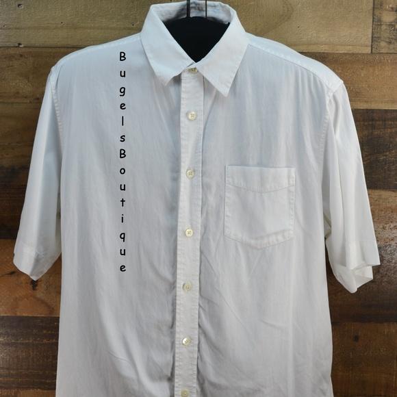 187a2f7cf6 Indigo Palms by Tommy Bahama White Shirt Size XL